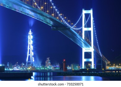 Muroran night view