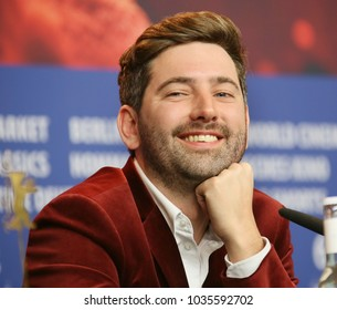 Murray Cummings is seen at the 'Songwriter' press conference during the 68th Film Festival Berlin at Grand Hyatt Hotel on February 23, 2018 in Berlin, Germany.
