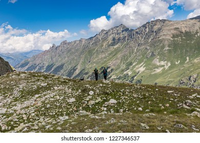 Muruju Valley. The Caucasus - Russia