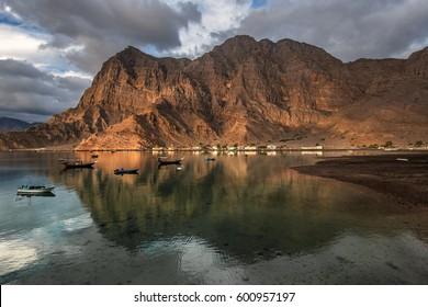 Musandam peninsula, Oman, Arabia
