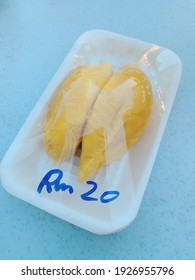 """""""Musang King"""" delicious and  very famous durian in Malaysia"""