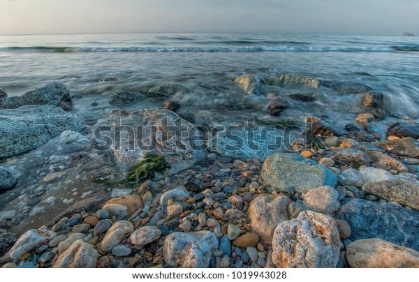 Muscat Capital Oman Famous Wonderful Natural Stock Photo