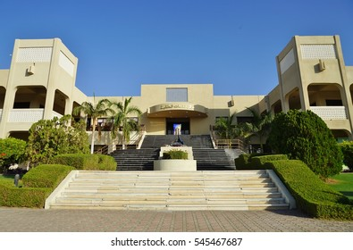 MUSCAT, OMAN -21 DEC 2016- Established in 1986, the Sultan Qaboos University is located in Al Khoudh in the Sultanate of Oman.