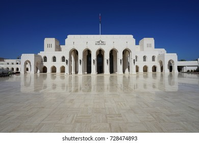 MUSCAT, OMAN -21 DEC 2016- View of the Royal Opera House Muscat (ROHM) in Muscat, the capital of the Sultanate of Oman.