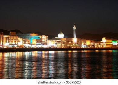 Muscat Oman by night