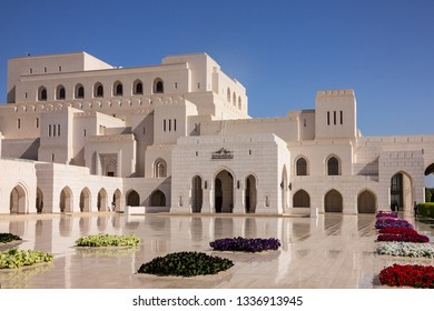 Muscat, Oman - March 12, 2019: Royal Opera House Muscat building.