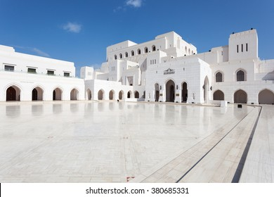 MUSCAT, OMAN - NOV 24, 2015: The Royal Opera House (ROHM) in the city of Muscat.  Sultanate of Oman, Middle East
