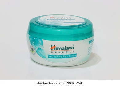 MUSCAT/OMAN-09.02.2019-Himalaya Herbals Olive Extra Nourishing Skin Cream, combines the richness of Olive Butter