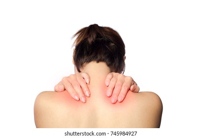 muscle spasm around cervical spine and upper part of trapezius muscle