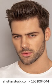Model features male facial Facial Feature