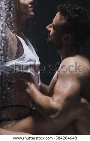 Man Sex Shower