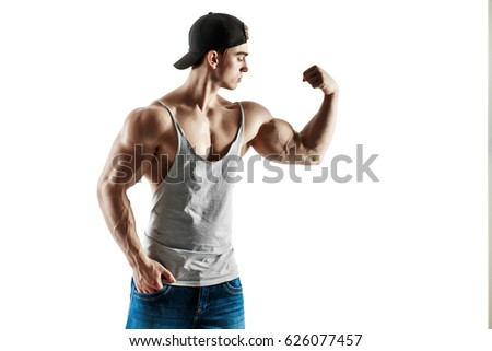muscular superhigh level handsome