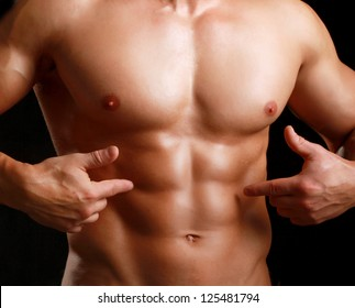 Flat guy abs nude — 11
