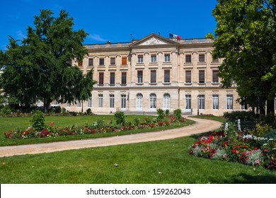 The Musee des Beaux-Arts de Bordeaux. Fine arts museum of the city of Bordeaux