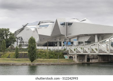 Musee des Confluences is a science and anthropology museum which opened on 20 December 2014 at the confluence of Rhone and the Saone rivers, on August 20, 2016 in Lyon France