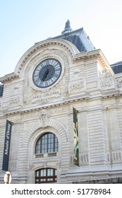 Musee d'Orsay Museum in Paris, France