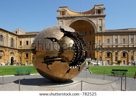 Museo Del Vaticano.Musei Del Vaticano Stock Photo Edit Now 782525 Shutterstock