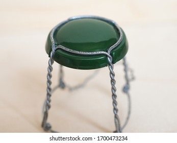 muselet wirehood for cork wine bottle cap