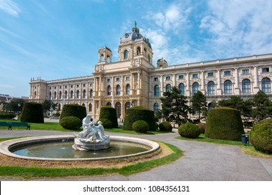 Museum of Art History (Kunsthistorisches museum) on Maria Theresa square (Maria-Theresien-Platz) in Vienna, Austria