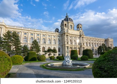 Museum of Art History (Kunsthistorisches museum) on Maria Theresa square (Maria-Theresien-Platz), Vienna, Austria