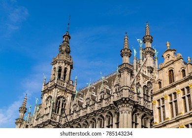 Museum of the City of Brussels in the Grand Place, UNESCO World Heritage Site, Belgium