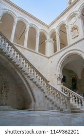 Museum in Dubrovnik with open roof. A famous scene in Quarth, Game of Thrones, Daenery's dragon stealer meets her here.