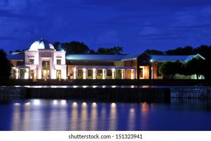 Museum of Fine Arts in Montgomery, Alabama / Museum Lights
