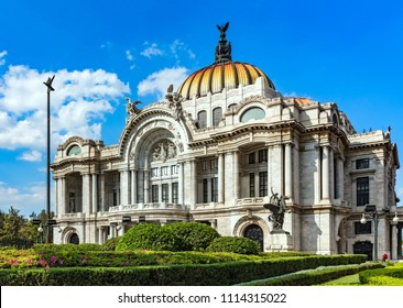 Museum of Fine Arts (Palacio Bellas Artes). It s one of the most prominent cultural centers in Mexico City.