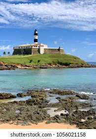 Museum and Lighthouse in Salvador Barra Bahia Brazil .