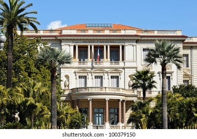 Museum Massena (Musee Massena) in Nice, France.