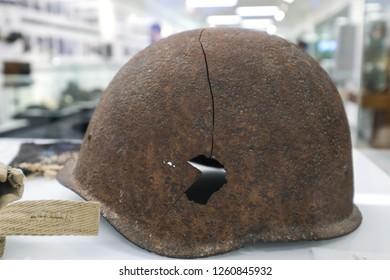 Old Rusty Metal German Helmet Images, Stock Photos & Vectors