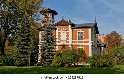 Museum - a neo-Renaissance palace - Villa Edward Herbst - carriage house