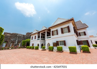 Museum of the Palace was built by King Narai, the king who ruled Ayutthaya