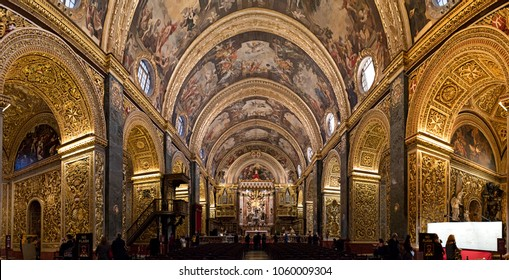 Museum of Saint John's Co-Cathedral-Valletta,Malta, 16-03-2018