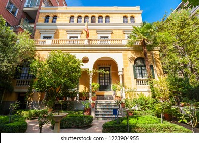 The Museum Sorolla or Museo Sorolla is a museum located in Madrid, Spain. It features work by the artist Joaquín Sorolla.