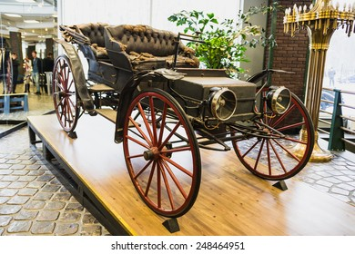 Museum of Technology Vadim Zadorozhnogo - Russia's largest private museum of art founded in 2005. Delahaye French carmaker founded by Emile Delahaye in 1895. Russia, Moscow, 24 January 2015