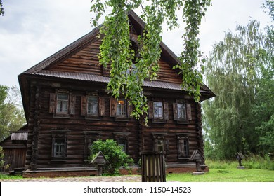 Museum of wooden architecture. Kostroma Sloboda, July 2018