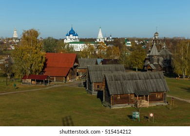The Museum of wooden architecture in Suzdal