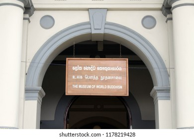 The Museum of World Buddhism in Kandy. Taken in Sri Lanka, August 2018.
