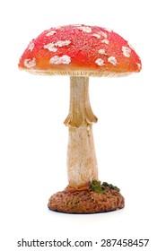 Mushroom Figurine