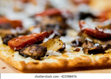Mushroom Flat Bread