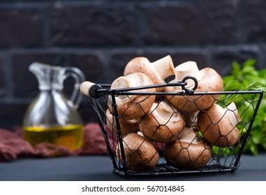 mushrooms - Shutterstock ID 567014845