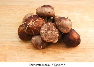 Mushrooms,Shiitake mushrooms is a healthy food and they have an antioxidant