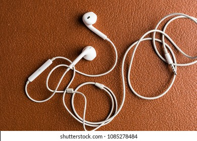 Music addiction with headphones