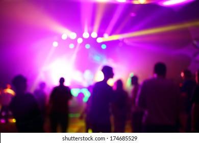 Music Concert background blur