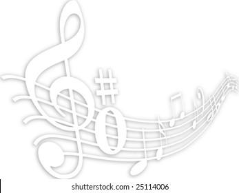 Music element background
