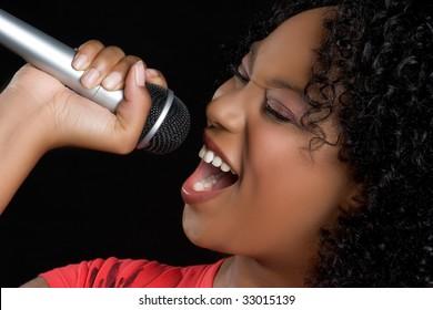 Music Girl Singing
