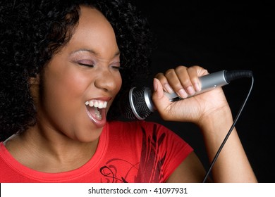 Music Girl Singing