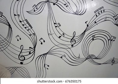 Music on Wall