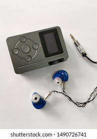 music player paired with in ear monitoring